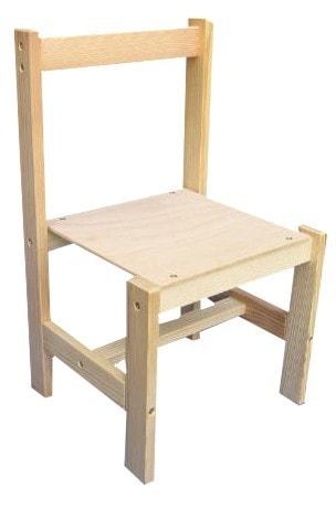 Mix hračky Židlička k tabuli FILIP dřevěná STOLIČKA dětská