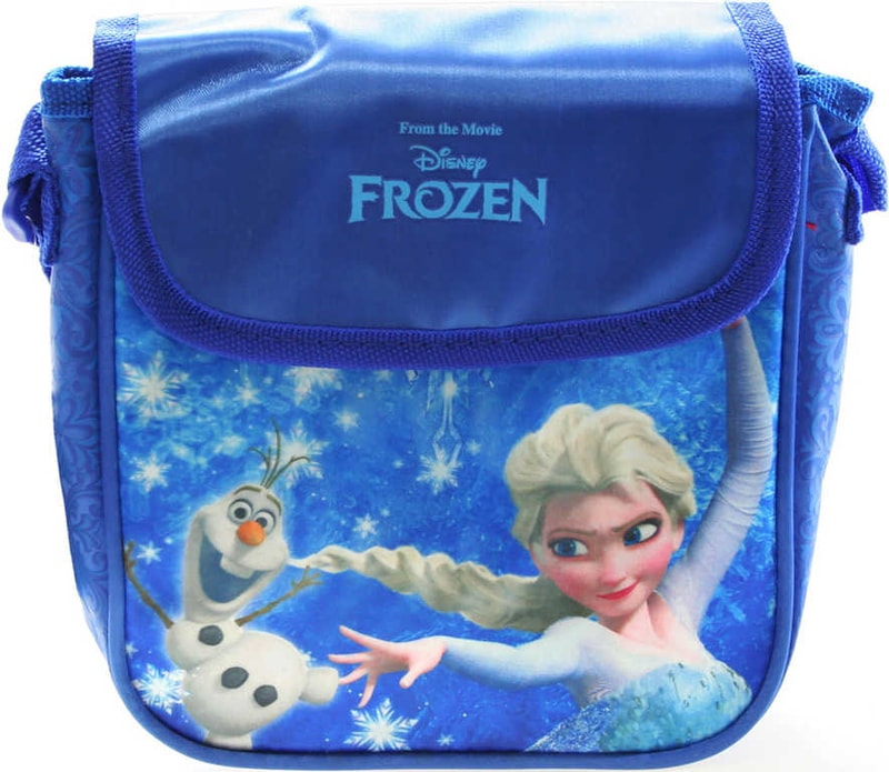 Mix hračky Taštička Frozen (Ledové Království) dětská kabelka s popruhem lesklá modrá