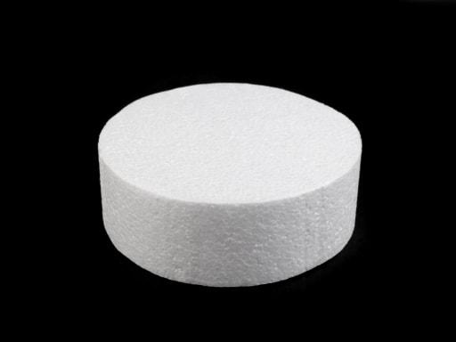 Stoklasa Dortový korpus / podstavec Ø15 cm polystyren - bílá