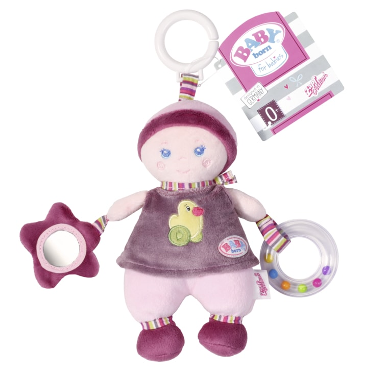 Zapf Závěsná panenka s aktivitami pro miminka BABY BORN