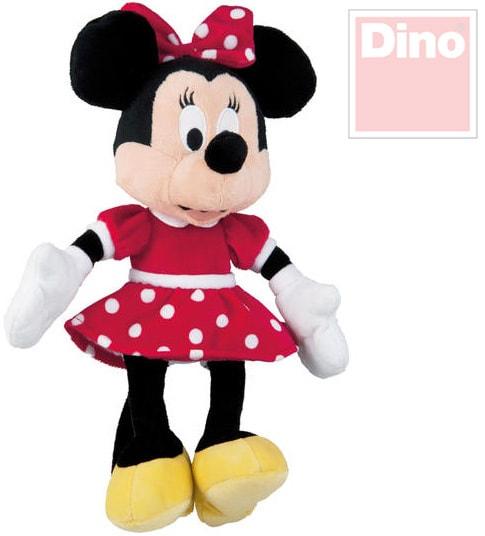 Dino Disney myška Minnie Mouse 25cm v červené sukni