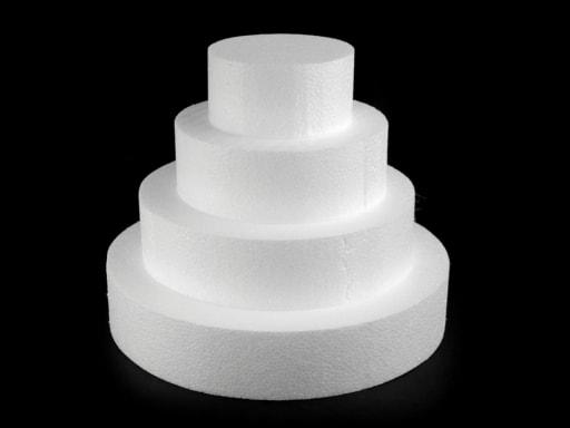 Stoklasa Dortový korpus polystyren 4 patra - bílá