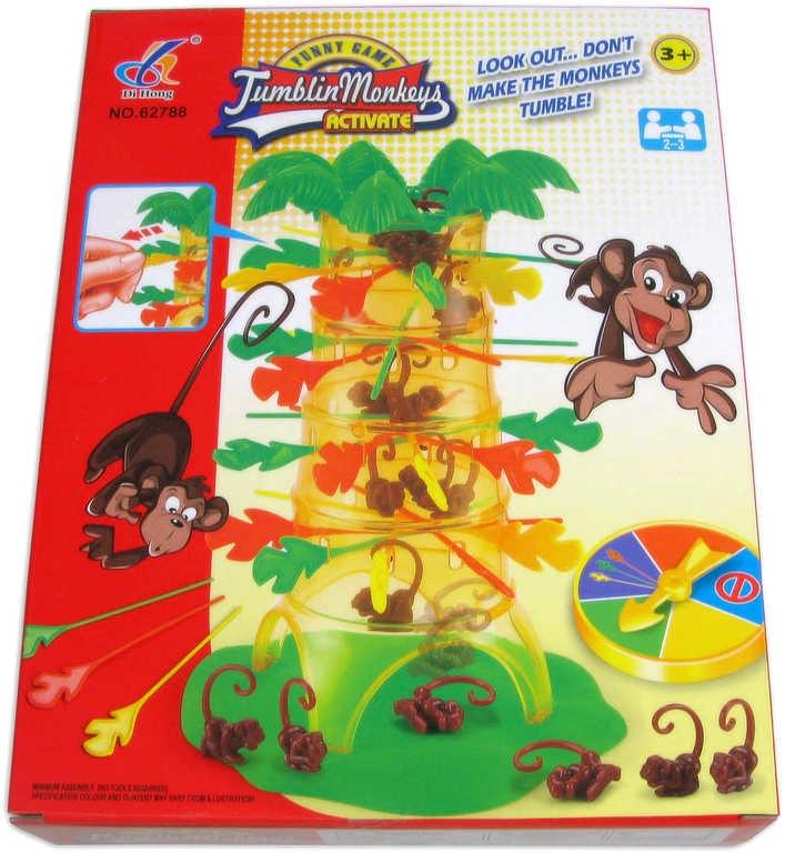 Mix hračky HRA Padající opičky