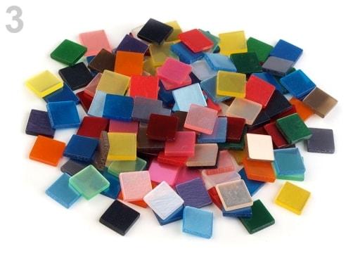 Stoklasa Mozaika mix 10x10 mm - 3 mix lesk