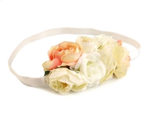 fffd2eef225 Pružná čelenka s květy Zvětšit. Previous  Next