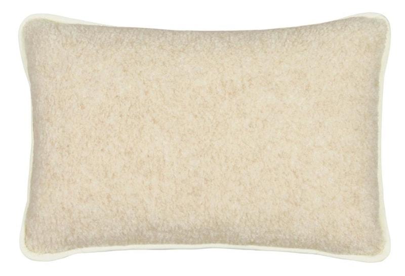 Kvalitex Vlněný polštář 40x60cm béžový/bílý - evropské merino