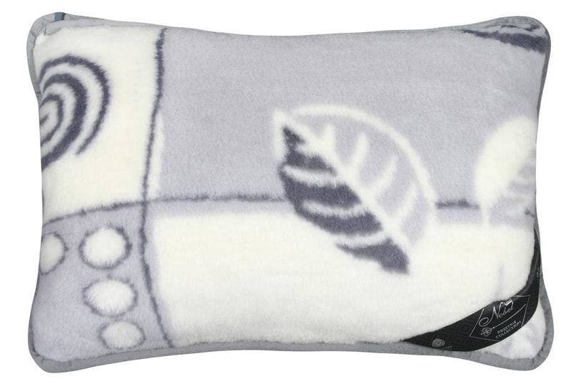 Kvalitex Vlněný polštář 40x60cm patchwork - Alpaka