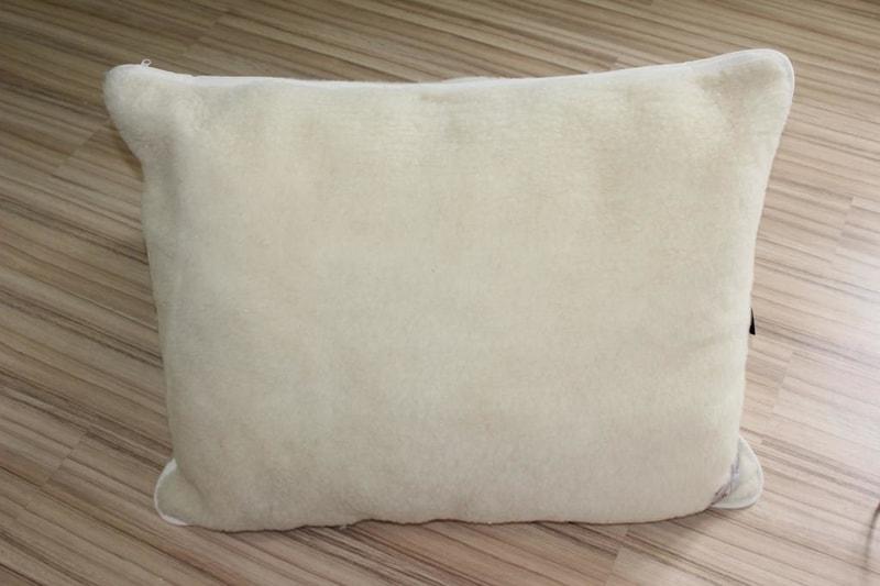 Kvalitex Vlněný polštář 70x90cm bílý - evropské merino