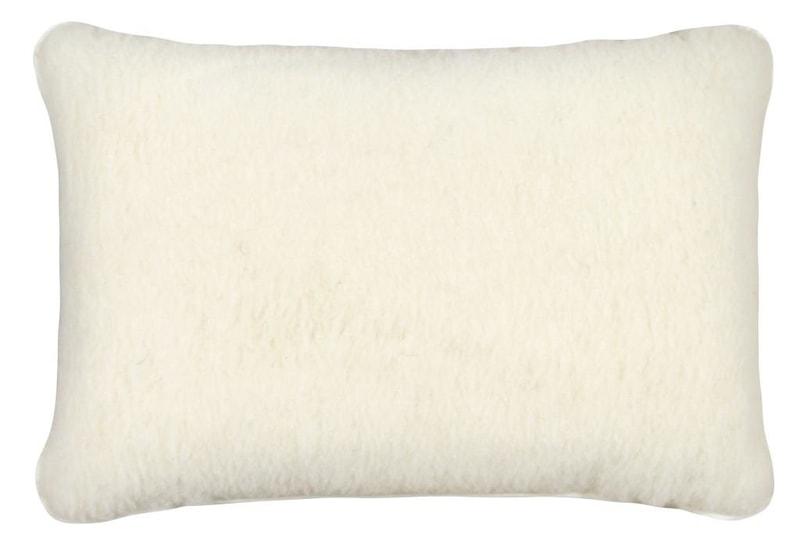 Kvalitex Vlněný polštář 40x60cm bílý - evropské merino