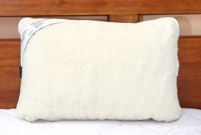 Kvalitex Vlněný polštář 40x60cm bílý - australské merino