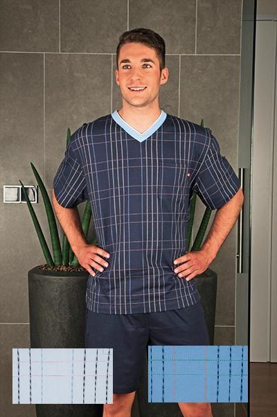 Andrie Pánské pyžamo PS 9141 - modrá - M