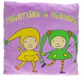 František a Fanynka plyšový polštář 32 x 32 cm Kouzelná školka