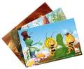 DŘEVO 4 Puzzle v krabičce Včelka Mája