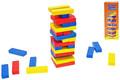 Hra Věž skládací 15 cm barevná