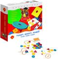 Tvary Barvy Paměť hra naučná v krabici