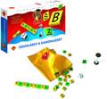 Samohlásky a souhlásky hra vzdělávací v krabici