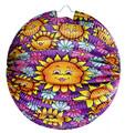 Lampion koule ,slunečnice , 25 cm