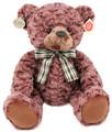 Plyšový medvěd retro sedící 35 cm