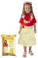 Sukně hawai dětská 50cm přírodní