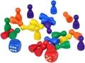 Figurky 25mm sada 24kusů + 2 kostky v sáčku