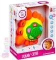 Krab dětský baby projektor s ukolébavkou hvězdná obloha Zvuk