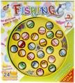 Hra Rybaření 4 udice 24 rybiček dětský plastový rybolov na baterie