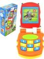 Krtkův mobil telefon dětský mění obrázky Krtek (Krteček) na baterie