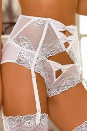 cbf0cf0dbbd Podvazkový pás Essme stocking belt white